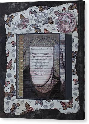 Sonnet 27 Canvas Print