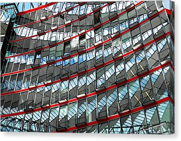 Sony Center - Berlin Canvas Print
