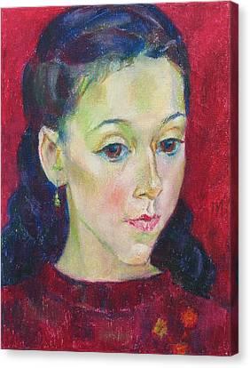 Sonya Canvas Print by Leonid Petrushin