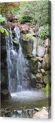 Soothing Waterfall Canvas Print by Bruce Bley