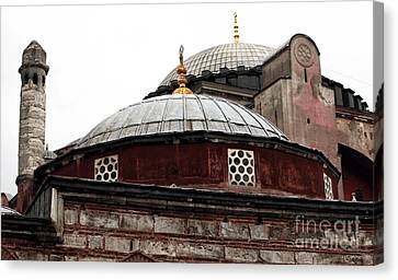 Sultanhmet Canvas Print - Sophia Design by John Rizzuto
