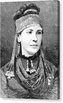 Sophia Schliemann Canvas Print by Granger