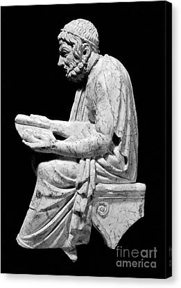Sophocles (c496-406 B.c.) Canvas Print by Granger