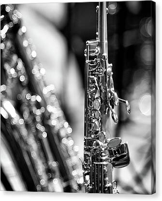 Soprano Saxophone Canvas Print by © Rune S. Johnsson