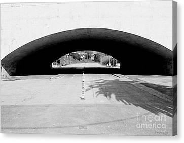 Under The Bridge -- Sotto Il Ponte Canvas Print