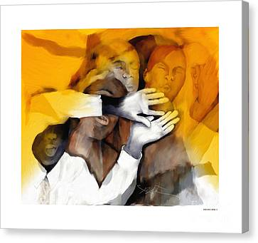 Soul Brothers Canvas Print