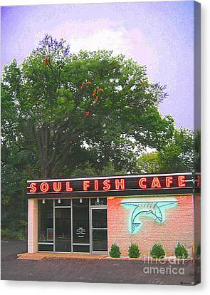 Soul Fish Canvas Print by Lizi Beard-Ward