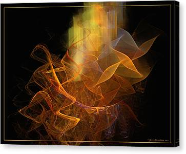 Soul Flower Canvas Print by Sipo Liimatainen
