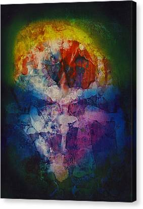 Inner Reality Canvas Print - Soul Mirror by Henry Rowland