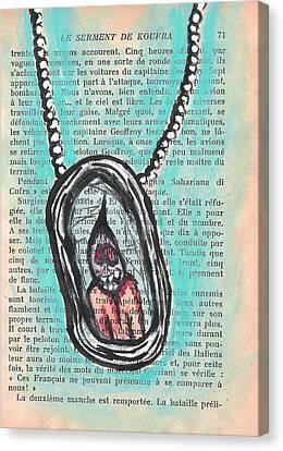 Soul Necklace Canvas Print