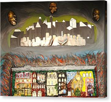 Souls Departing Canvas Print by Robert Handler