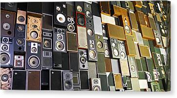 Canvas Print featuring the photograph Sound Of Music ... by Juergen Weiss