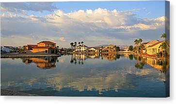 South Bullhead Sunrise Canvas Print