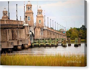 Canvas Print featuring the photograph South Carolina Bridge by Tamera James