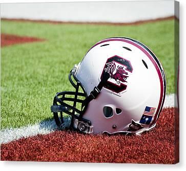 South Carolina Helmet Canvas Print by Replay Photos