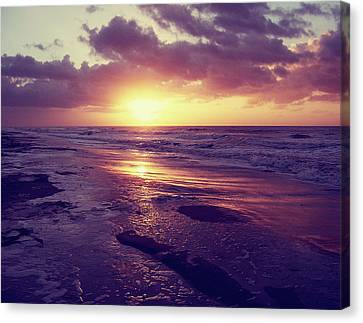 Canvas Print featuring the photograph South Carolina Sunrise by Phil Perkins