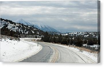 South On Highway 447 Canvas Print by Gary Rose