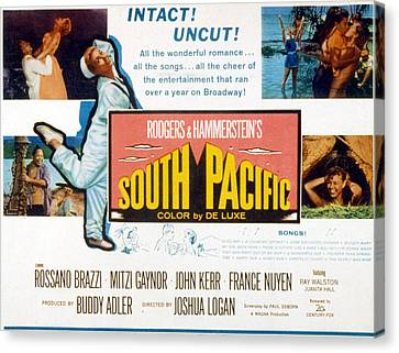 South Pacific, Mitzi Gaynor, 1958 Canvas Print by Everett