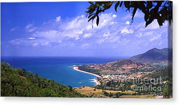 Southeast Coast  Panoramic Route Canvas Print by Thomas R Fletcher