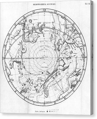 Southern Celestial Map Canvas Print by Science, Industry & Business Librarynew York Public Library