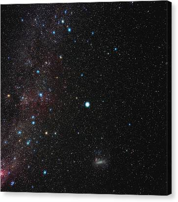 Southern Milky Way Canvas Print by Eckhard Slawik