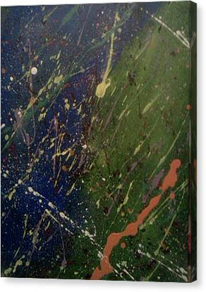 Space Canvas Print by James Adger