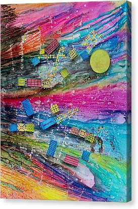 Space Junk Canvas Print by David Raderstorf