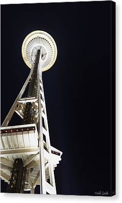 Space Needle Canvas Print by Heidi Smith