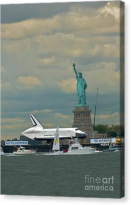 Space Shuttle Enterprise 2 Canvas Print by Tom Callan