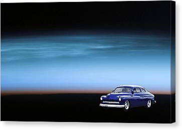 Space Sled Canvas Print