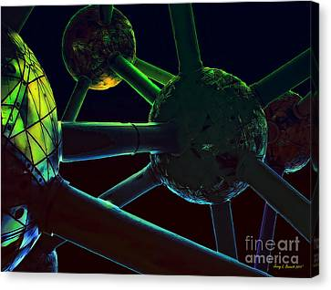 Space Station Canvas Print by Jerry L Barrett