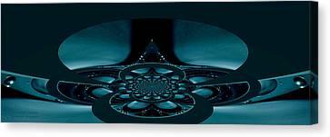 Spacecraft Fantasy Canvas Print by Robert Kernodle