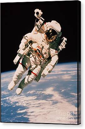 Spacewalk Canvas Print by NASA / Science Source