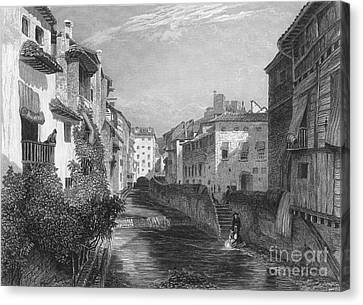 Spain: Grenada, 1833 Canvas Print by Granger
