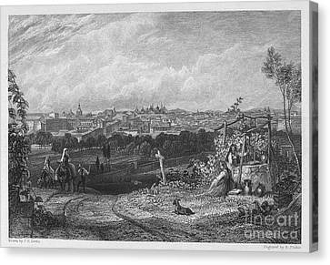 Spain: Madrid, 1833 Canvas Print by Granger