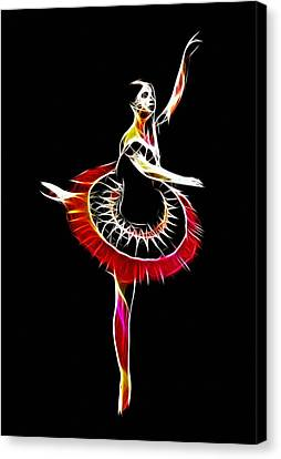Spanish Ballerina Canvas Print by Steve K