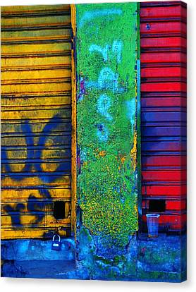 Spare A Spill Canvas Print by Skip Hunt