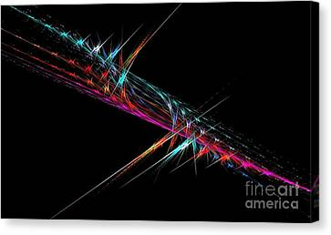 Sparks Canvas Print by Greg Moores