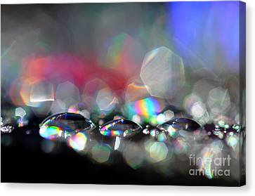 Canvas Print featuring the photograph Sparks by Sylvie Leandre
