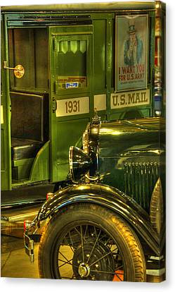Special Delivery Trucks Canvas Print by Ken Smith
