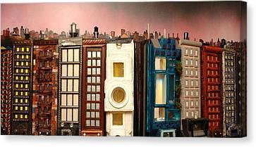 Special Perspective-big Blocks Canvas Print by Robert Handler