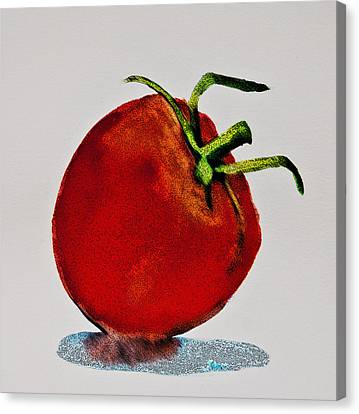 Speckled Tomato Canvas Print by Jani Freimann