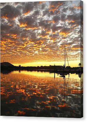 Spectacular Mazatlan Sunset Canvas Print