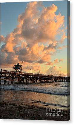 Spectacular San Clemente Clouds Canvas Print by Timothy OLeary