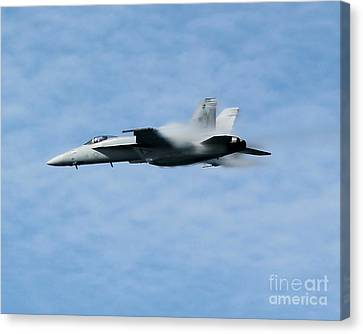 Canvas Print featuring the photograph Speed by Alex Esguerra