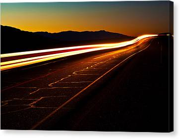 Speed Of Light Canvas Print by James Marvin Phelps