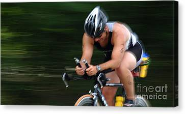 Bicycle Speed Trap Canvas Print by Bob Christopher