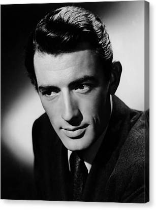 Spellbound, Gregory Peck, 1945 Canvas Print by Everett