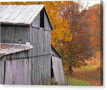 Spencer County Indiana Canvas Print by Marsha Williamson Mohr