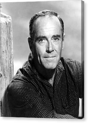 1963 Movies Canvas Print - Spencers Mountain, Henry Fonda, 1963 by Everett